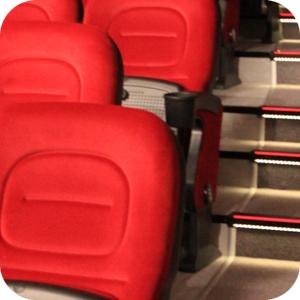 3D Kino Topoľčany – výmena sedačiek