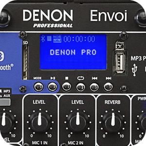Denon PRO Envoi – nový prenosný ozvučovací systém