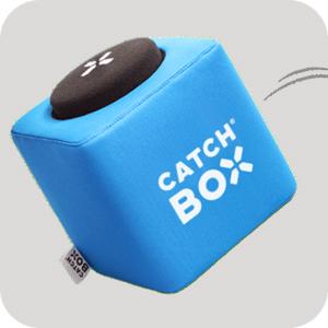Catchbox – prvý mikrofón na hádzanie na svete