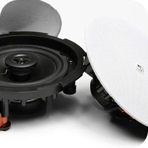 Audac CIRA a CENA – nové bezrámikové stropné reproduktory