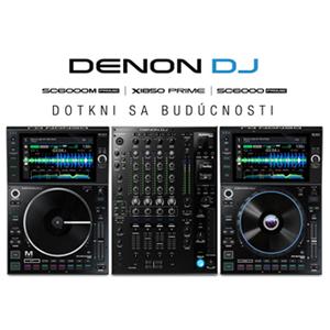 Denon DJ mení definíciu hlavných DJ pódií